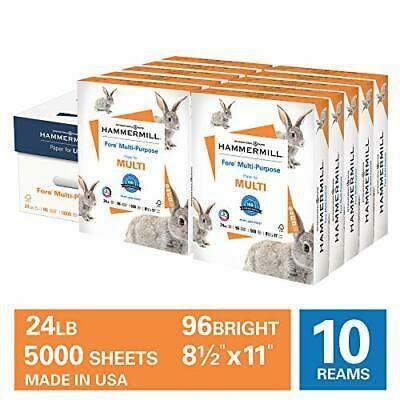 Ad Hammermill Fore Multi Purpose 24lb Copy Paper 8 5 X 11 10 Ream Case 5000 Shee In 2020 Copy Paper Paper Sheet Of Paper
