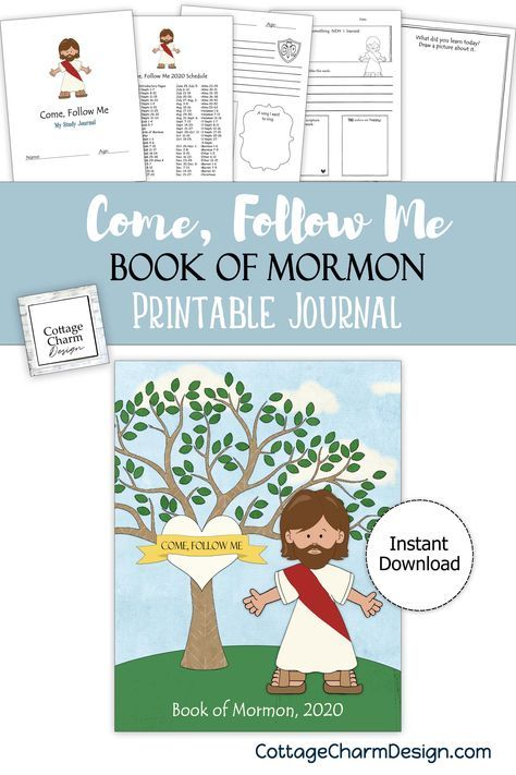 Come Follow Me 2020 Book Of Mormon Study Journal Download
