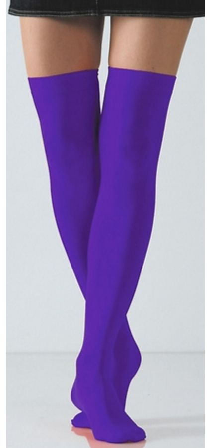 c5eab792c purple thigh high socks | Thigh high socks | Thigh socks, Thigh high socks,  Socks