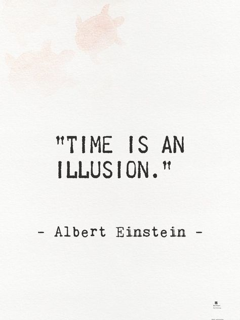 "Albert Einstein quote. Time is an illusion Sticker by epic paper - White - 3""x3"""