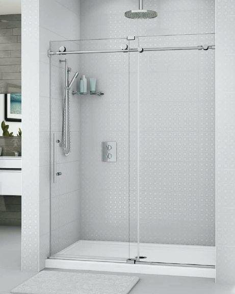 K2 In Line Slider Shower Height Door Br A For Boy S Bath 2 Luxury Shower Shower Doors Boy Bath