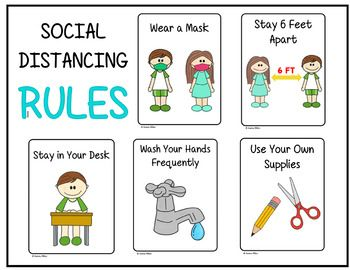Students Will Need To Follow Many Rules When They Return Back To School They Will Need Constant Reminde Classroom Rules Poster Classroom Rules Teacher Posters