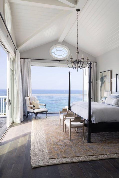 50 interiores de un dormitorio de ensueño en 1 diseño infantil Home, Dream Beach Houses, Dream Bedroom, House, Beach House Decor, House Design, House Styles, Beautiful Bedrooms, Coastal Bedrooms
