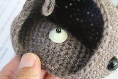 Amigurumi Eyes Pattern : Amigurumi : embroidering claws tutorial ❥ 4u hilariafina http