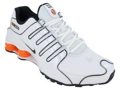 Nike Shox White And Orange