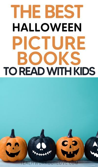 Best Halloween Reads 2020 The Best Halloween Picture Books To Read With Kids | TWL in 2020