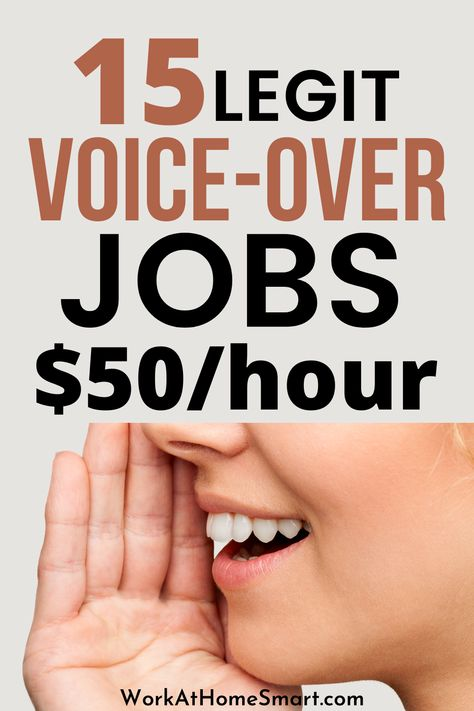 15 Online Voice Over Jobs That Pay Well