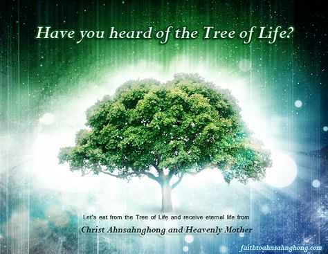 Christ Ahnsahnghong & God the Mother - World Mission Society Church of God (WMSCOG) Tree of Life