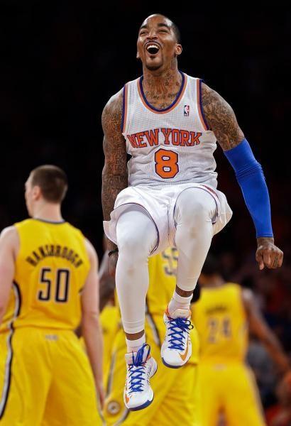 New York Knicks guard J.R.