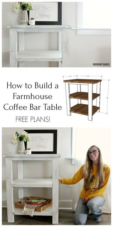 Diy Coffee Bar Table