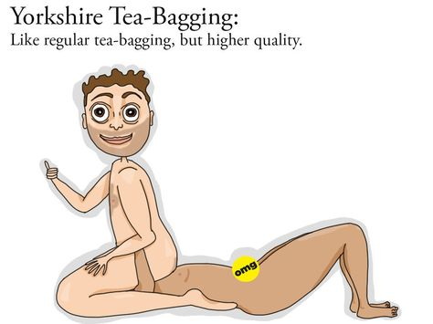Sexual position teabagging