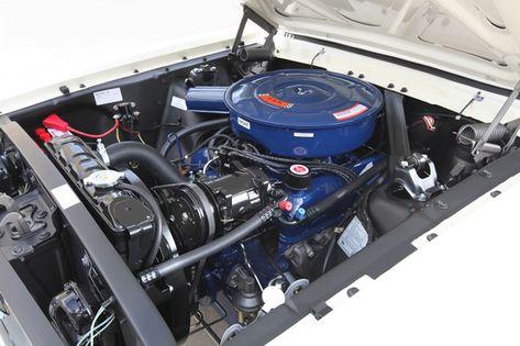 1966-Mustang-engine
