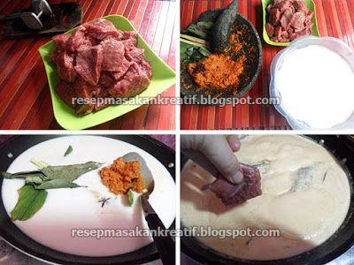 Resep Rendang Padang Daging Sapi Bumbu Kering Asli Minang Resep Masakan Malaysia Resep Makanan Dan Minuman