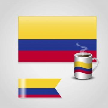 Diseno De La Bandera De Colombia Vector 3d Resumen America Png Y Vector Para Descargar Gratis Pngtree Bandera De Colombia Disenos De Banderas Bandera