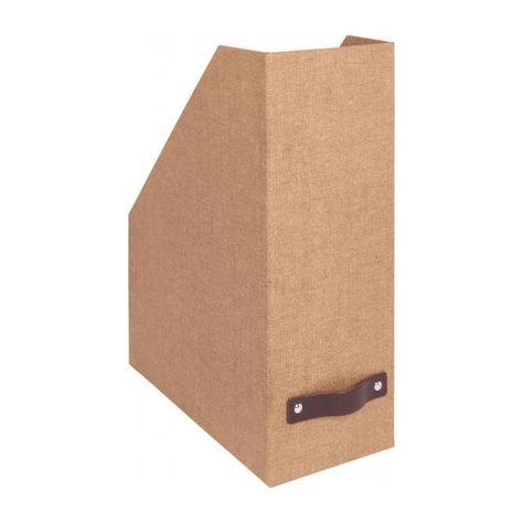 Caja De Almacenaje 29x22cm De Carton Revistero De Carton