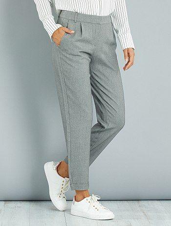 Femme Pantalon Pantalon Cargo Cargo Kiabi QrChdts