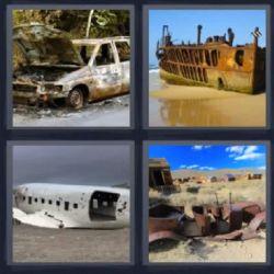 Barco Oxidado Aqui Tienes La Respuesta 4fotos 1palabra Com 4