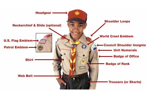 New Only Uniform Boys Scout Cub Baseball Cap Green