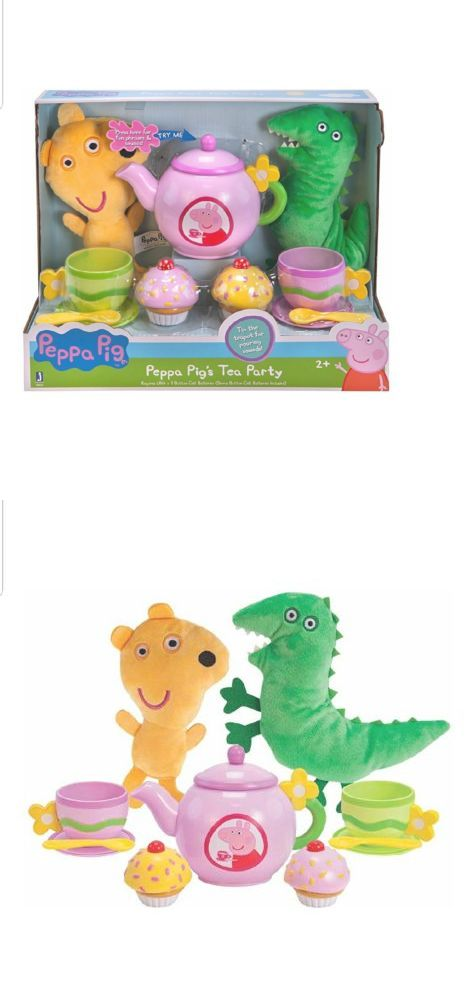 Peppa Pig Tin Tea Set 15 pcs