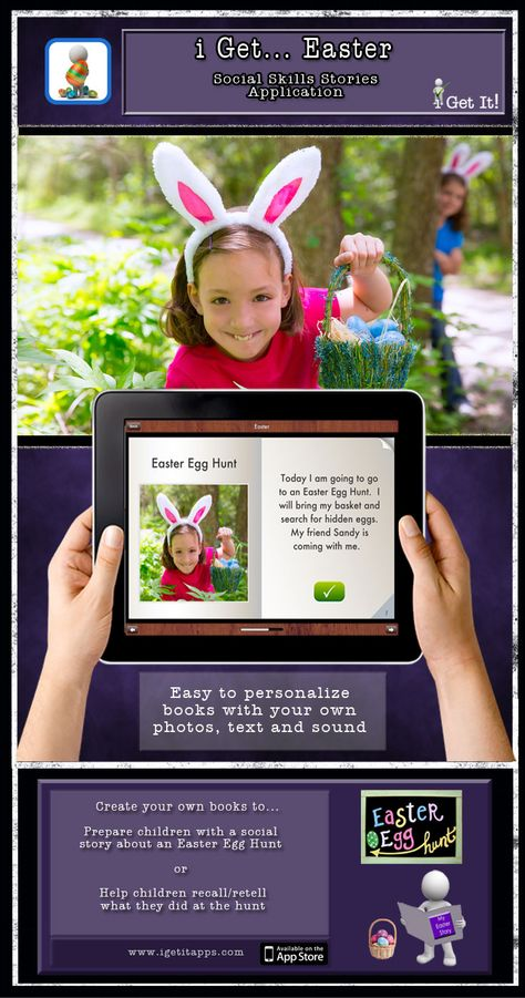 i Get... Easter is an app that offers photo books about Easter and an