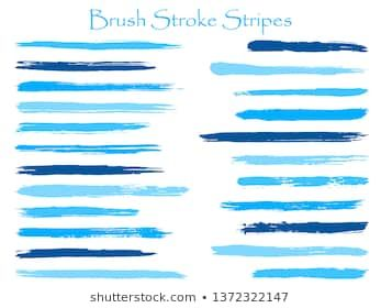 Mottled Ink Cyan Brush Stroke Stripes Vector Set Horizontal Marker Or Paintbrush Lines Patch Hand Drawn Watercolo Purple Peonies Flower Frame Png Red Peonies