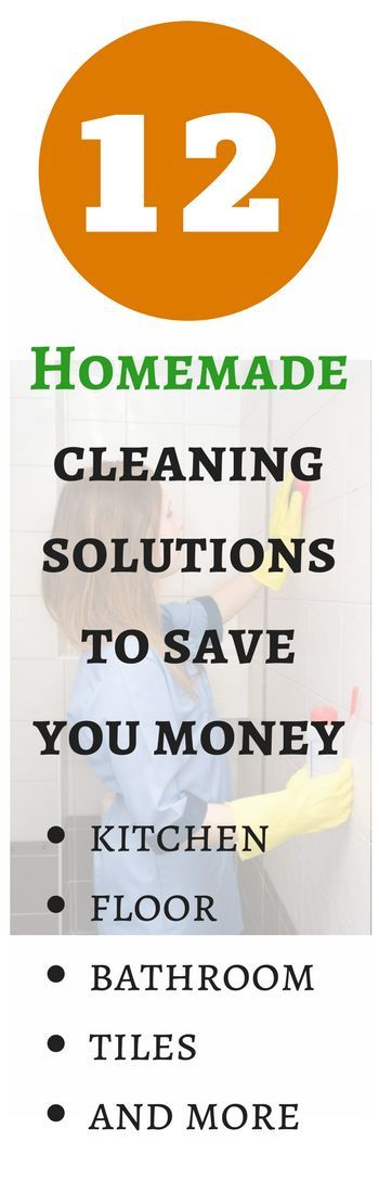12 Homemade Cleaning Solutions to Save You Money...and the Environment