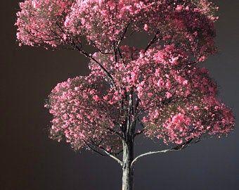 6 Tall Cherry Blossom Tree Etsy Model Tree Miniature Trees Blossom Trees