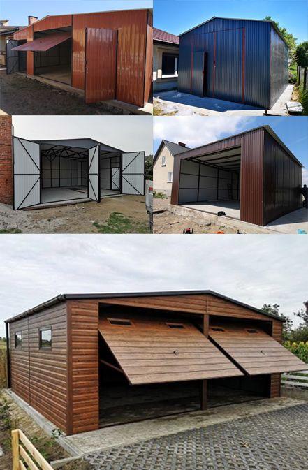 Garaze Blaszane 1 Stanowiskowe 2 Stanowiskowe I 3 Stanowiskowe Na Samochod Z Montazem Gratis Outdoor Decor Outdoor Structures Shed