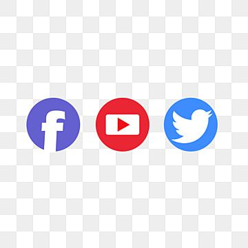 Youtube Facebook Twitter Icons Facebook Icons Youtube Icons Twitter Icons Png Transparent Clipart Image And Psd File For Free Download In 2021 Twitter Icon Png Facebook Icons Twitter Icon