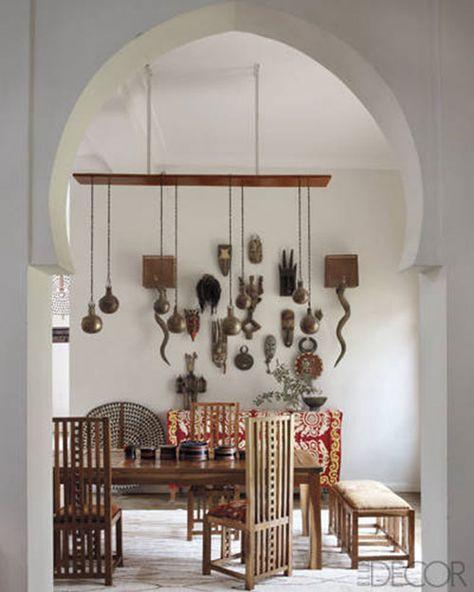Eetkamer Van Chris.Marokkaanse Interieur Van Maryam En Chris Interieur Marokkaans