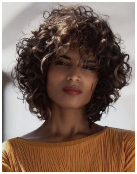 The Most Trendy Curly Hairstyles For Women In 2021 In 2021 Curly Hair Styles Naturally Haircuts For Curly Hair Curly Hair Styles