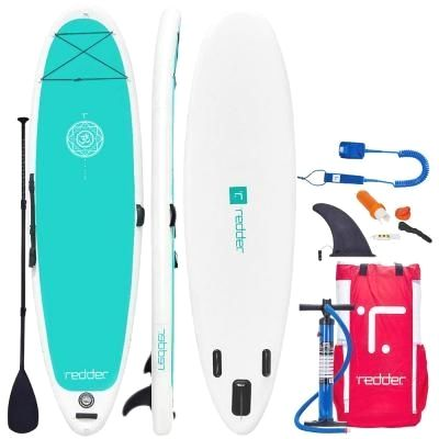 359 Redder Zen 10 Ft 8 In Premium Inflatable Stand Up Paddle Board With Full Sup Accessories Supboard In 2020 Inflatable Paddle Board Standup Paddle Red Paddle