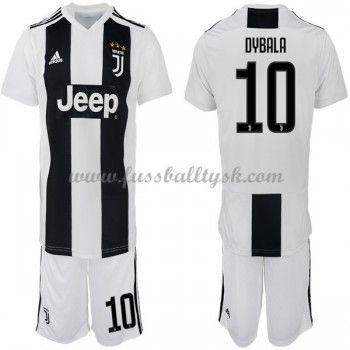 online retailer 36446 d5083 Kinder Fussball Trikot Juventus 2018-19 Paulo Dybala 10 Heim ...