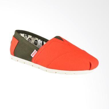 Wakai Wak Cw01873 Chuo Sepatu Wanita Green Red Sepatu Wanita Sepatu Produk