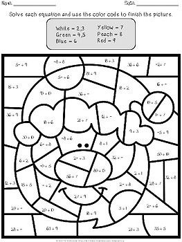 Christmas Color By Number Multiplication And Division Christmas Color By Number Printable Christmas Coloring Pages Free Christmas Coloring Pages