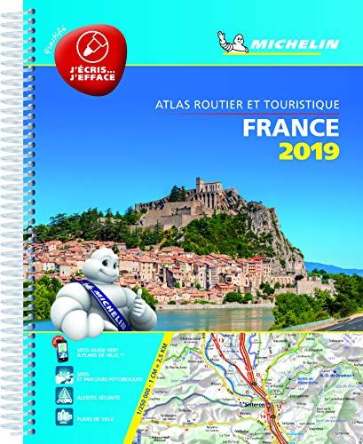 Atlas Routier Et Touristique France Plastifie Michelin 20 Https