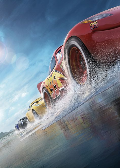 HD wallpaper: Lightning McQueen screensaver, Cars 3, Animation, Pixar, 4K