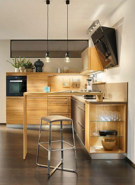 Kleine küchen tipps für mehr stauraum licht in nischenküchen stauraum schöner wohnen und tipps
