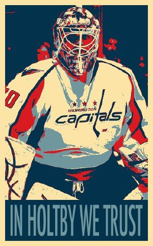 I was so enraged today because Holtby had a great game.