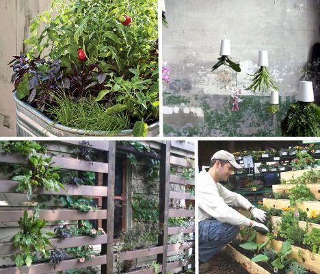 12 Savvy Small Space Urban Gardening Designs Ideas 12 Savvy
