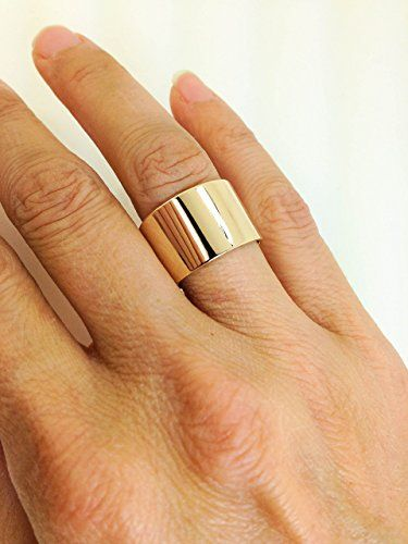 Handmade 10k Yellow Gold Wide Band 10 Karat Gold Extra Wide Ring Wide Gold Band Mens Or Womens Wide 10k Gold Band Pure Gold Bands Wide Rings Wide Bands