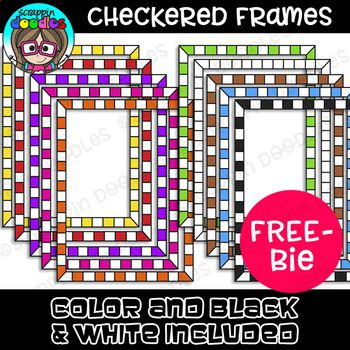 Our Checkered Borders Includes 9 Colored And 1 Black And White Border Border Come In Png Format Quality Clip Art Freebies Clip Art Borders Free School Borders