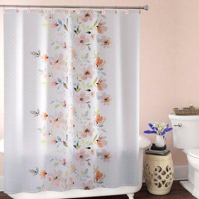 House Of Hampton Dwight Single Shower Curtain Fabric Shower