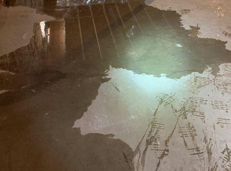 Water On Basement Floor Wet Basement Waterproofing Inspection Waterproofing Basement Leaking Basement Wet Basement