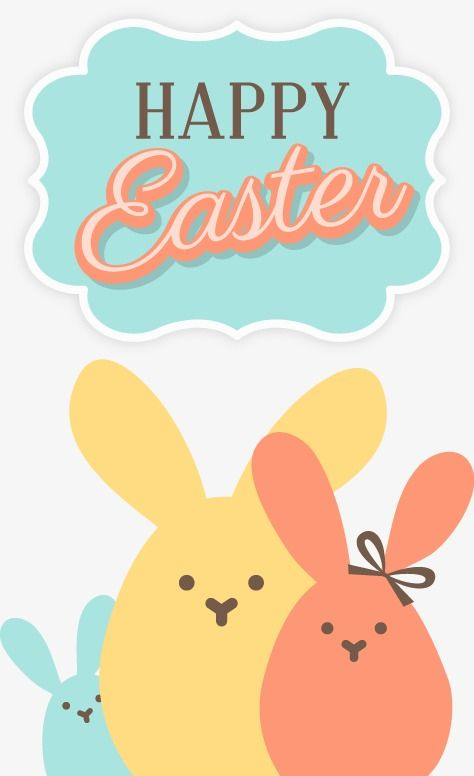 Vector Happy Easter Happy Easter Rabbit Vector Png Transparent Clipart Image And Psd File For Free Download Happy Easter Wishes Happy Easter Happy Easter Bunny