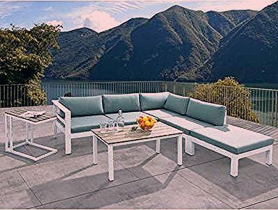 Frederick 4 Piece Sofa Set With Cushions Ensemble Salon De