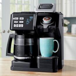 Hamilton Beach Flex Brew 2 Way Coffee Maker In 2020 Coffee Maker