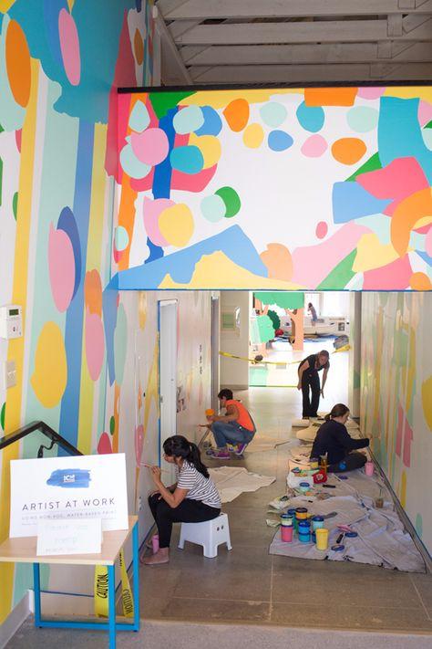 an oh joy mural! - Oh Joy!