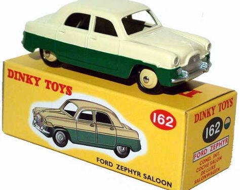 Diecast Dinky Atlas 162 Ford Zephyr Saloon New Or Updated At Www