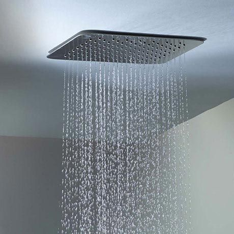 Roper Rhodes Square 300mm Ceiling Mounted Shower Head Now Online Ceiling Mounted Shower Head Shower Heads Ceiling Shower Head
